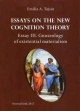 Essays on the new cognition theory. Essay III. Gnoseology of existential materialism